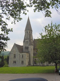 The Church of the Annunciation at Woodchester, build in thanksgiving by William Leigh 1846-9